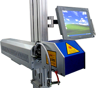 银玛的激光喷码设备 我们使用很稳定