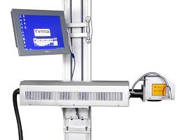 银玛饮料激光喷码机